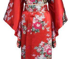 Les différents vêtements traditionnels japonais