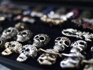 la mode tête de mort
